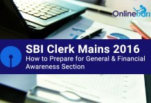 SBI Clerk Mains Preparation for General/ Financial Awareness