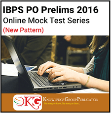 IBPS PO Mock Test Series 2016 KB