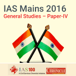 IAS (Mains) General Studies Paper IV- Model Papers