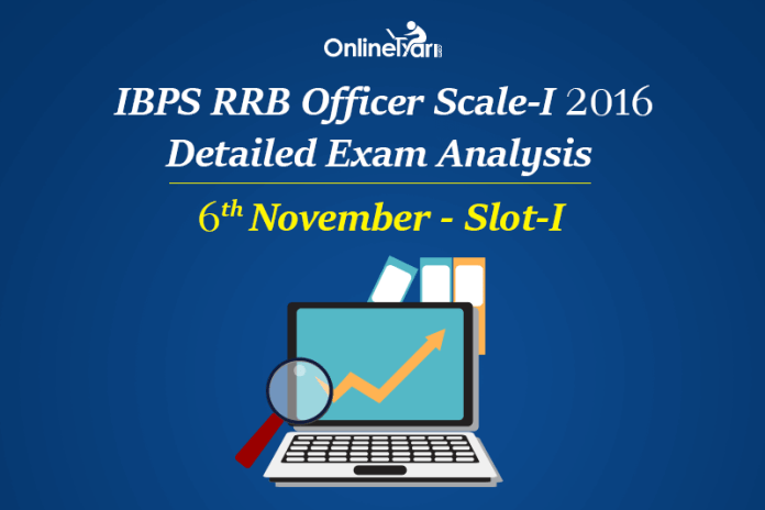 IBPS RRB Officer Prelims Exam Analysis, 6th November Shift 1