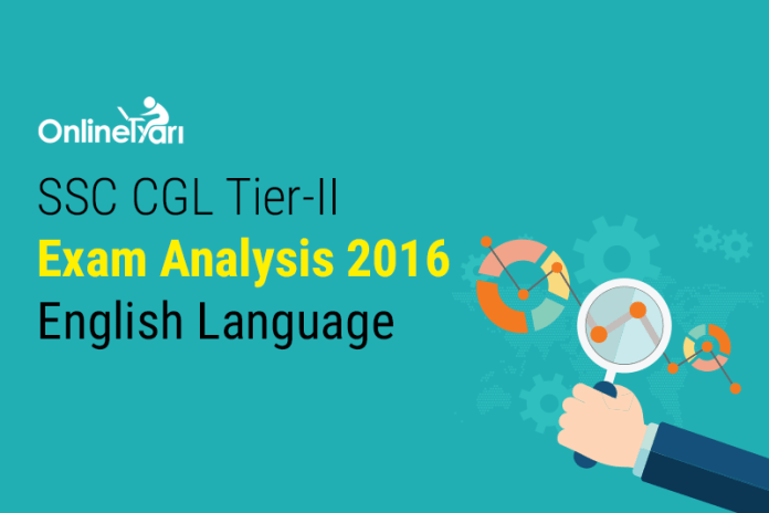 SSC CGL Tier 2 Exam Analysis, English Language Paper: 1 December 2016