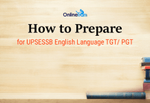 How to Prepare for UPSESSB English Language TGT/ PGT