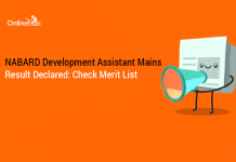 NABARD Development Assistant Mains Result Declared: Check Merit List