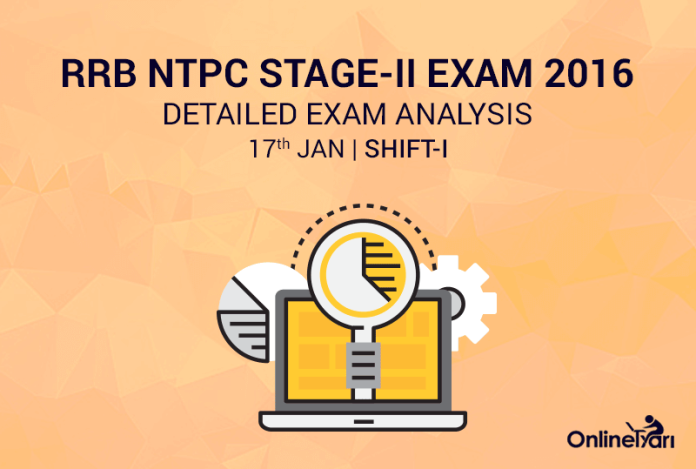 RRB NTPC Mains 17th January Exam Analysis: 1st Shift