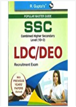 SSC Combined Secondary Level (10+2): Postal Assistants/Sorting Assistants, DEO & LDC Recruitment Exam Guide (R-1331)