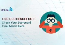 ESIC UDC Result Out: Check Your Scorecard/ Final Marks Here