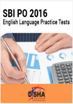 SBI PO 2016- English Language Practice Tests