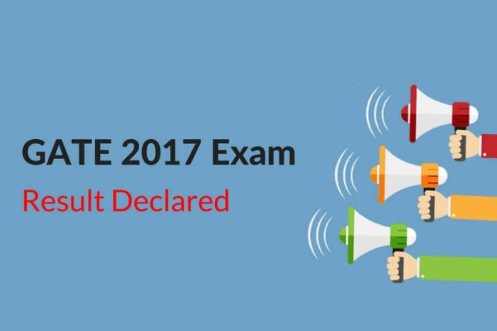GATE 2017 Result Declared by IIT Roorkee: Check Now