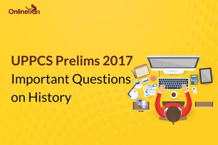 UPPCS Prelims 2017 Important Questions