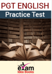 PGT English Practice Test