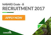 NABARD Grade B Recruitment Examination 2017: Apply now