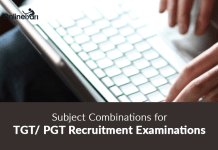 Subject Combinations for TGT/ PGT Recruitment Examinations