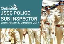 JSSC Police Sub Inspector Exam Pattern & Structure 2017