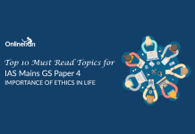 Top 10 Must Read Topics for IAS Mains GS Paper 4 | Importance of Ethics in life