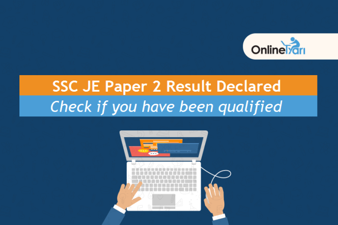 SSC JE Paper 2 Result Declared: Check your Marks Here