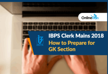 How to Prepare for IBPS Clerk Mains GK Section 2018