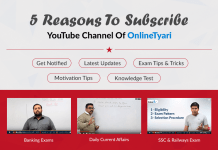 5 Reasons To Subscribe YouTube Channel Of OnlineTyari