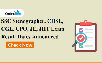 SSC Stenographer, CHSL, CGL, CPO, JE, JHT Exam result dates announced: Check Official Notice