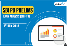 SBI PO Prelims Exam Analysis, Review: 1st July 2018 (Shift 3)
