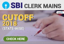 SBI Clerk Mains Cutoff 2018 (State-Wise): Check Here