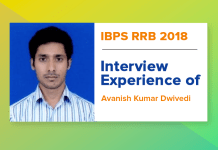 IBPS RRB 2018 Interview Experience of Avanish Kumar Dwivedi