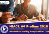 How to Prepare for NIACL AO Numerical Ability Section 2018