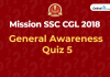general awareness quiz 5