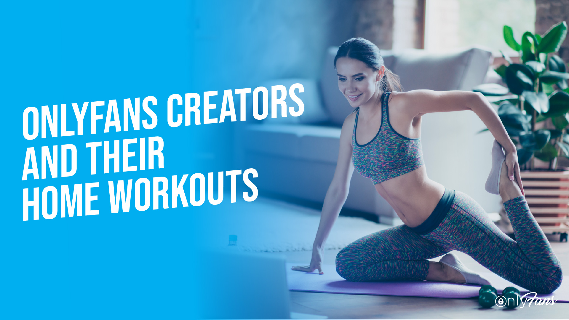 OnlyFans creators home workouts