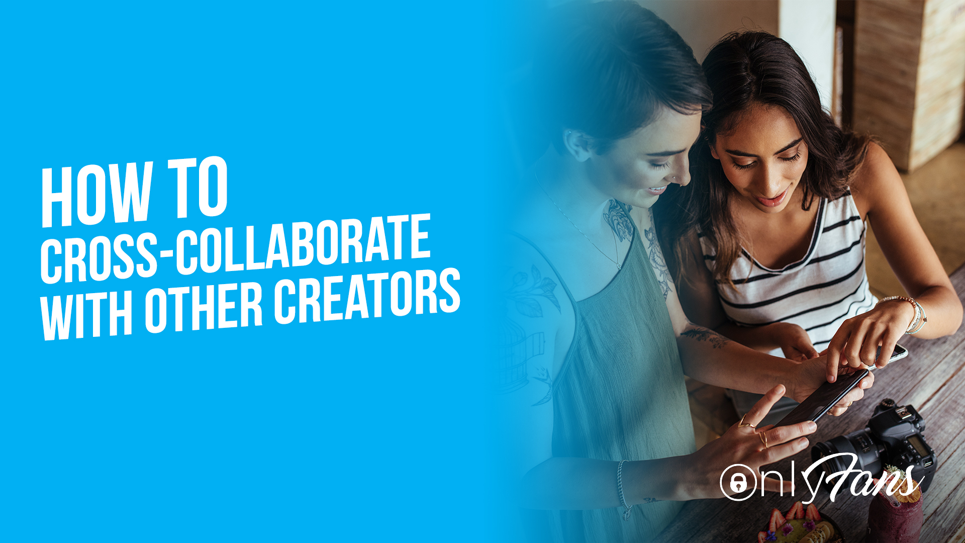 How to cross collaborate with other creators