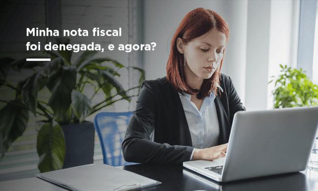 nota fiscal denegada