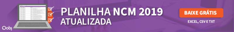 planilha ncm 2019 atualizada