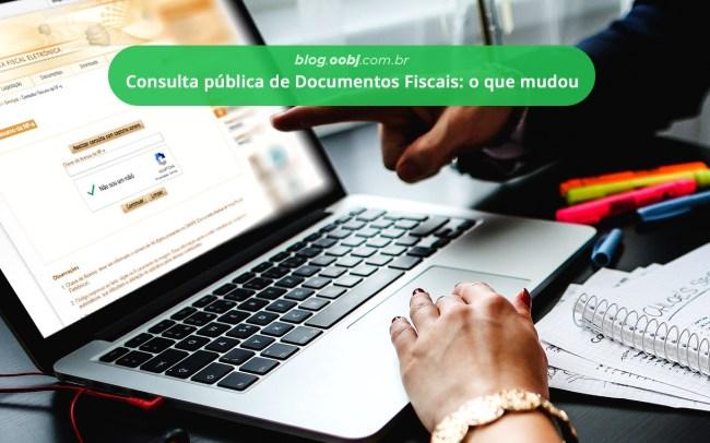 CONSULTA PÚBLICA DE DOCUMENTOS FISCAIS