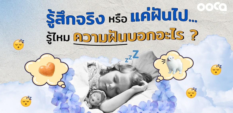 ฝัน ทำนายฝัน ฝันร้าย สุขภาพจิต เครียด ซึมเศร้า พบจิตแพทย์