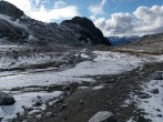 The lower cirque with glacial features