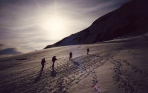 Ascending Mount Baker