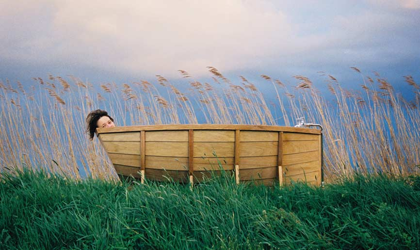 In meiner (Holz-)Wanne bin ich Kapitän!