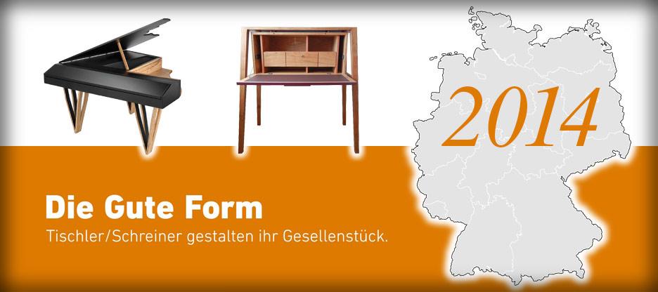 Nominationen des Landesverbandes Baden für Die Gute Form 2014