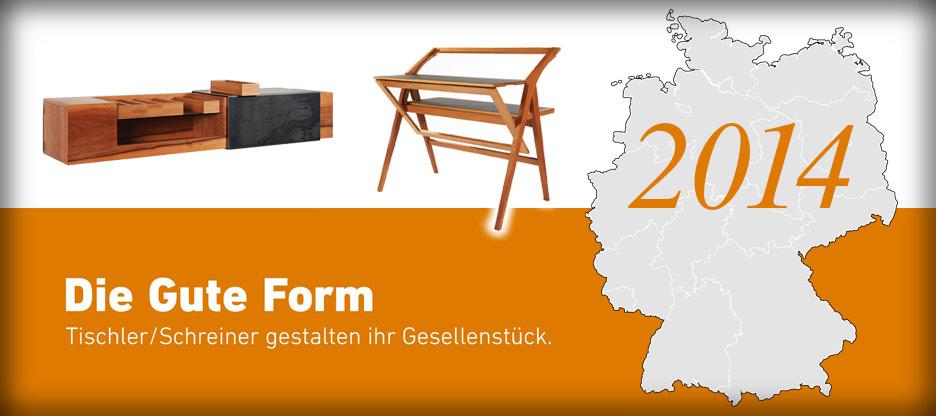 Nominationen des Landesverbandes Bayern für Die Gute Form 2014