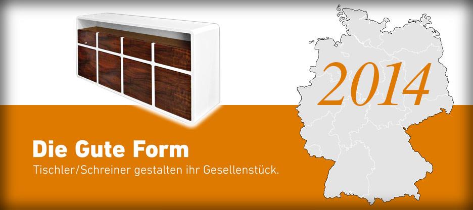 Nominationen des Landesverbandes Mecklenburg-Vorpommern für Die Gute Form 2014