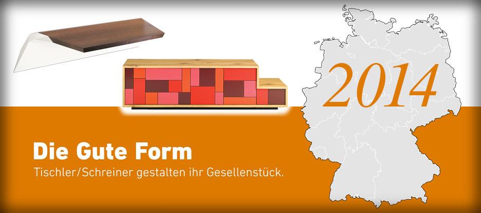 Nominationen des Landesverbandes Rheinland-Pfalz für Die Gute Form 2014