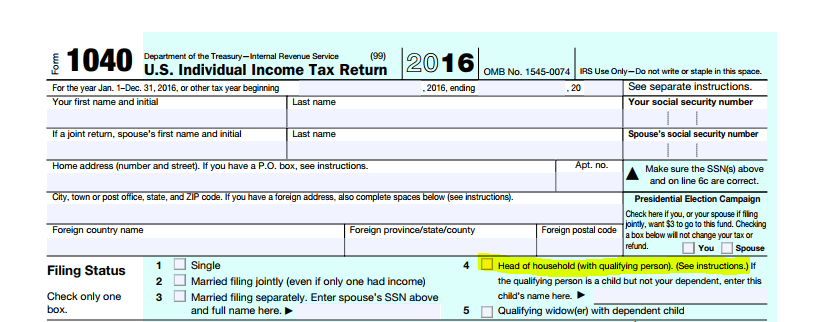 The IRS's 1040 Individual Income Tax Return file