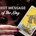 Tarot card message