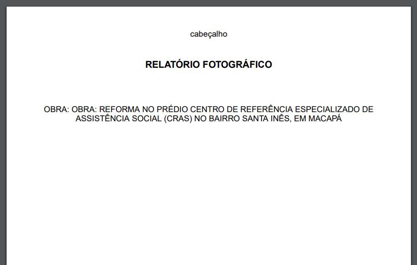 relatório fotografico pronto 2