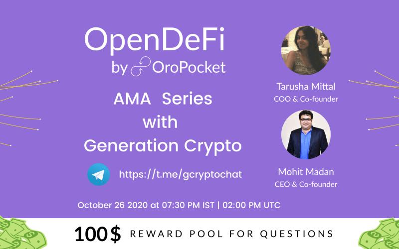 AMA with Generation Crypto