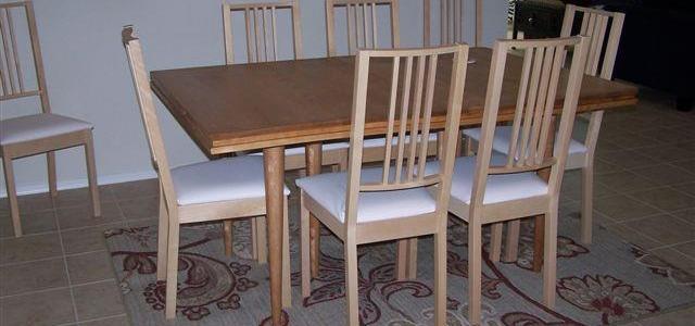 Custom Wooded Table Legs
