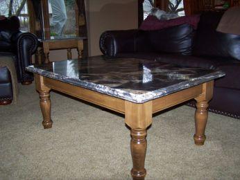 English Country End Table Leg & Jumbo English Coffee Table Leg