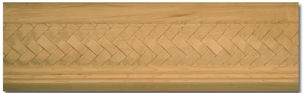 Basketweave Crown Molding Photo (part 7453)