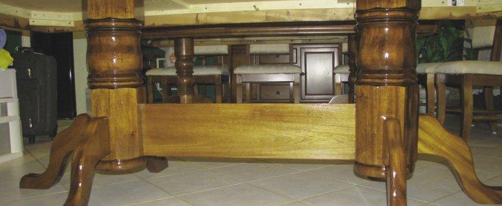 Building a Double Pedestal Table