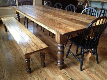 Jumbo English Country Coffee Table Leg & Husky Dining Table Leg