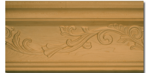 The Carved Vine Crown Molding (part number 74661.96)